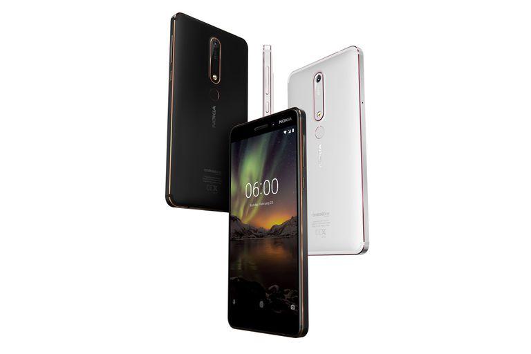 Un Nokia 6 edición 2018
