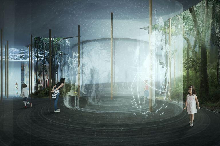 Kengo Kuma diseñó el Museo Hans Christian Andersen en Dinamarca