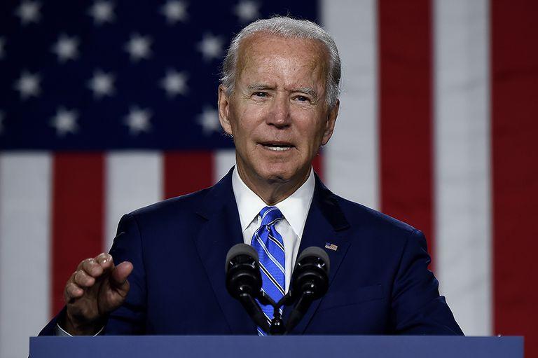 El presidente norteamericano, Joe Biden