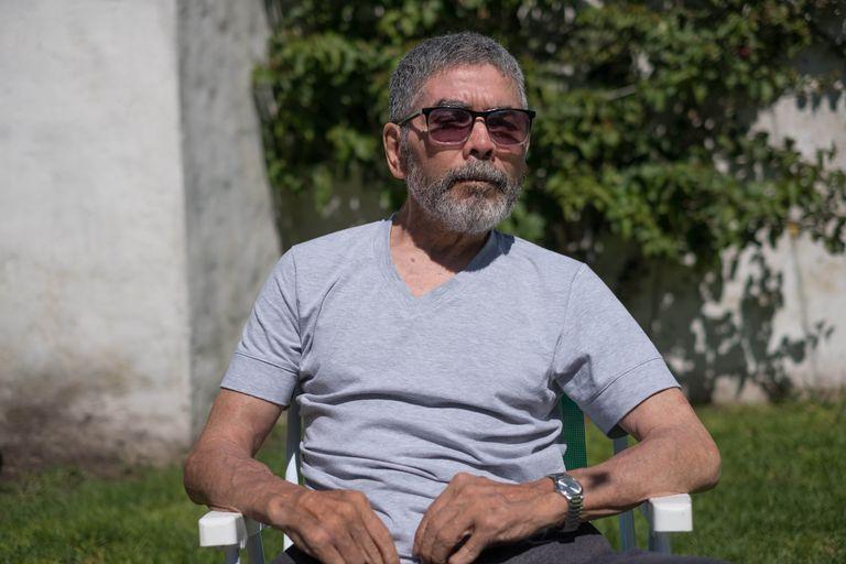Sergio Víctor Palma, el año pasado, en Mar del Plata; sufría de Parkinson