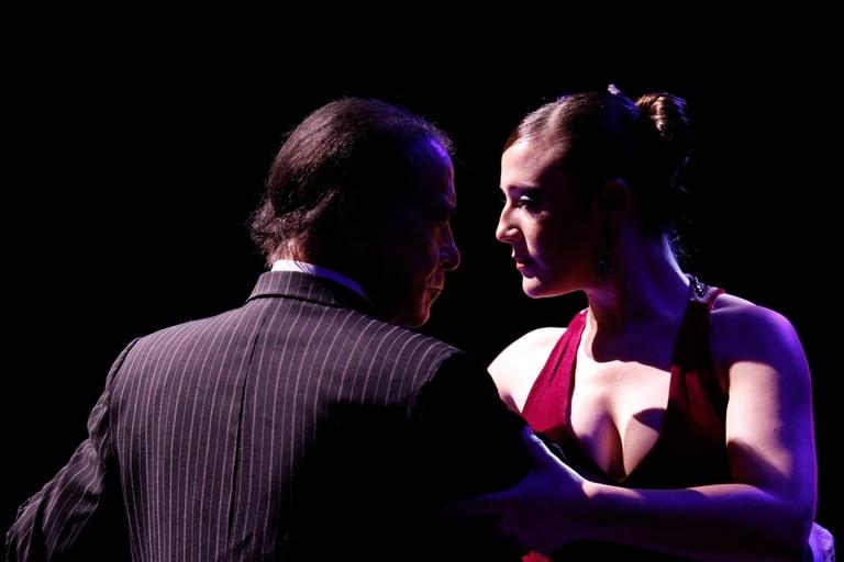 Juan Carlos Copes y Johana Copes