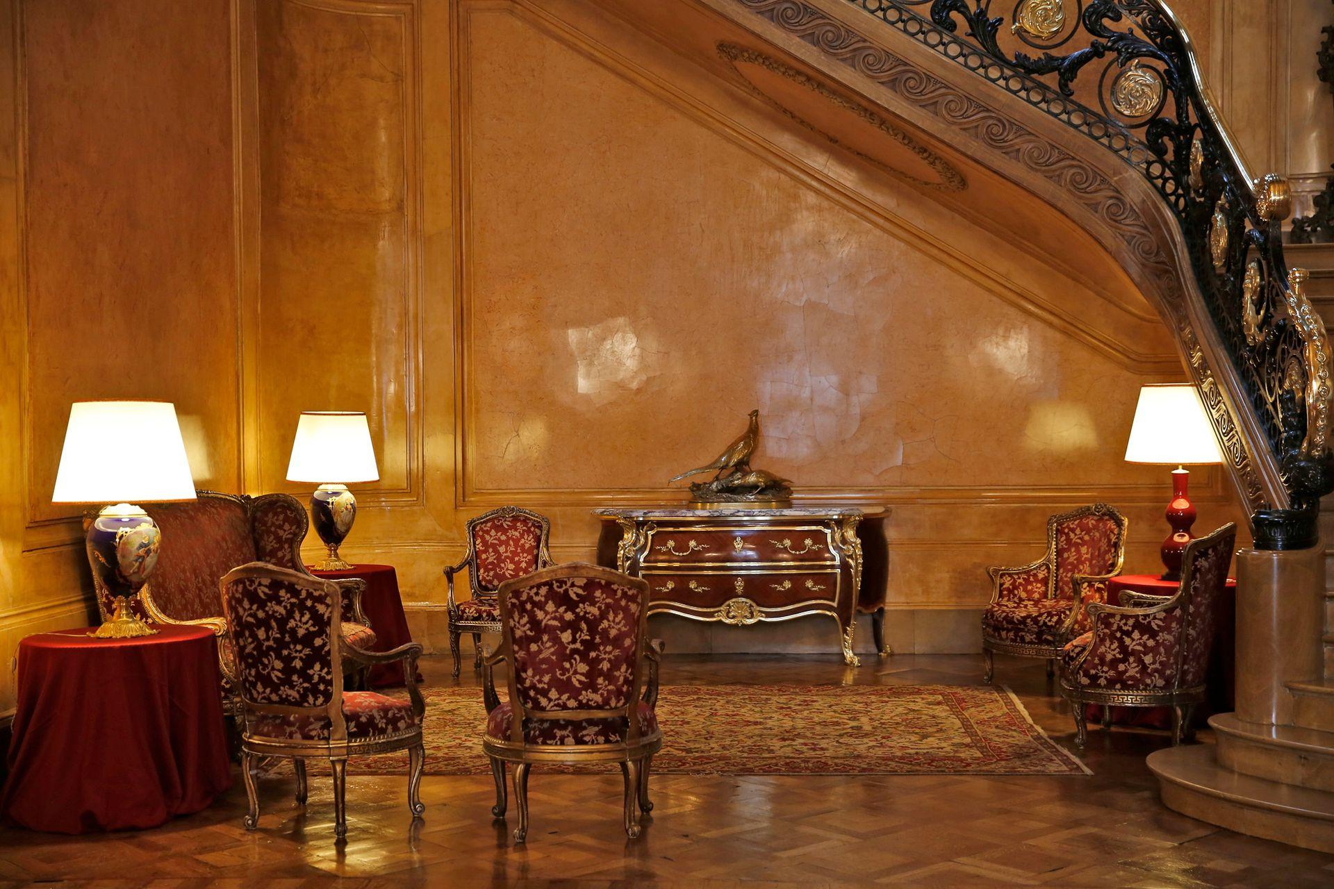 En el palacio hay varios recibidores