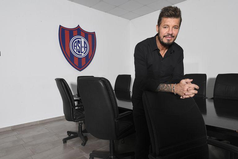 Tinelli, la unidad en San Lorenzo y por qué lo alegra el título de Boca