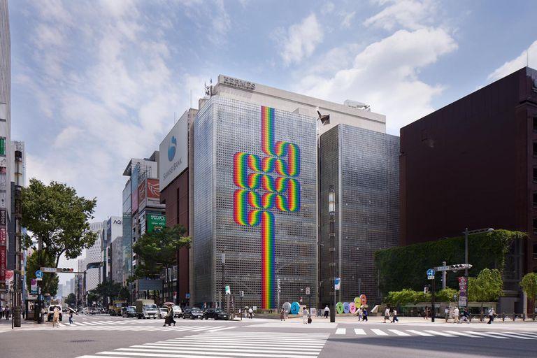 Julio Le Parc conquista Tokio con sus obras de colores