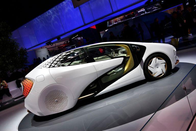 El Toyota LQ es eléctrico y purifica el aire que atraviesa; fue una de las atracciones de la CES 2020