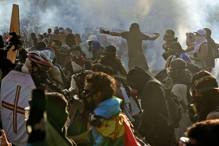 Chile: en medio de las protestas, robaron más de 200.000 dólares de un banco