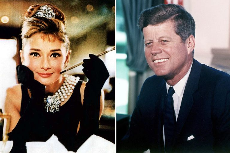 El romance secreto entre John F. Kennedy y Audrey Hepburn