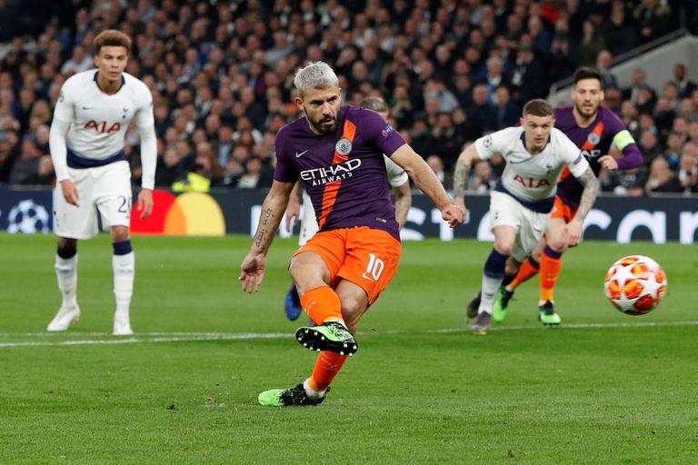 Champions League: El penal que falló Agüero, los goles y el planchazo de Salah