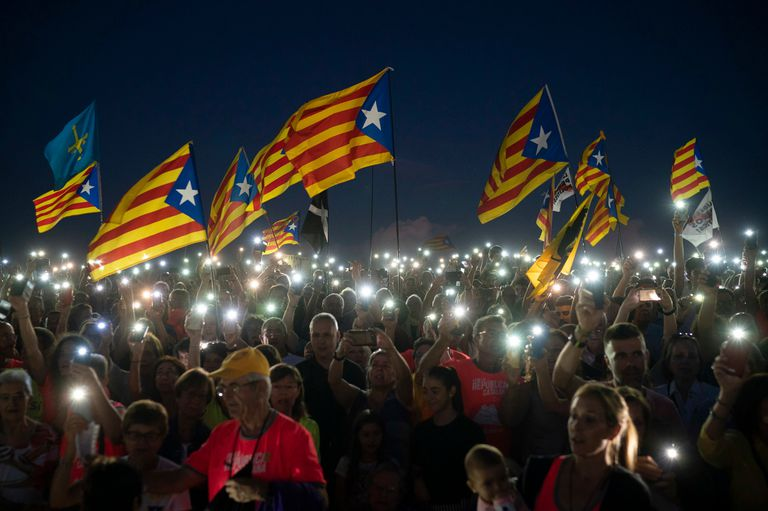 Cataluña se expresa a un año del referéndum independentista