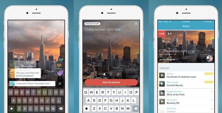 Adquirida por 100 millones de dólares por Twitter, la aplicación Periscope funciona de forma independiente desde dispositivos iOS y permite realizar transmisiones on line