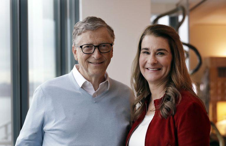 Bill Gates y Melinda French Gates, en 2019 en Kirkland, Washington. (Foto AP/Elaine Thompson)