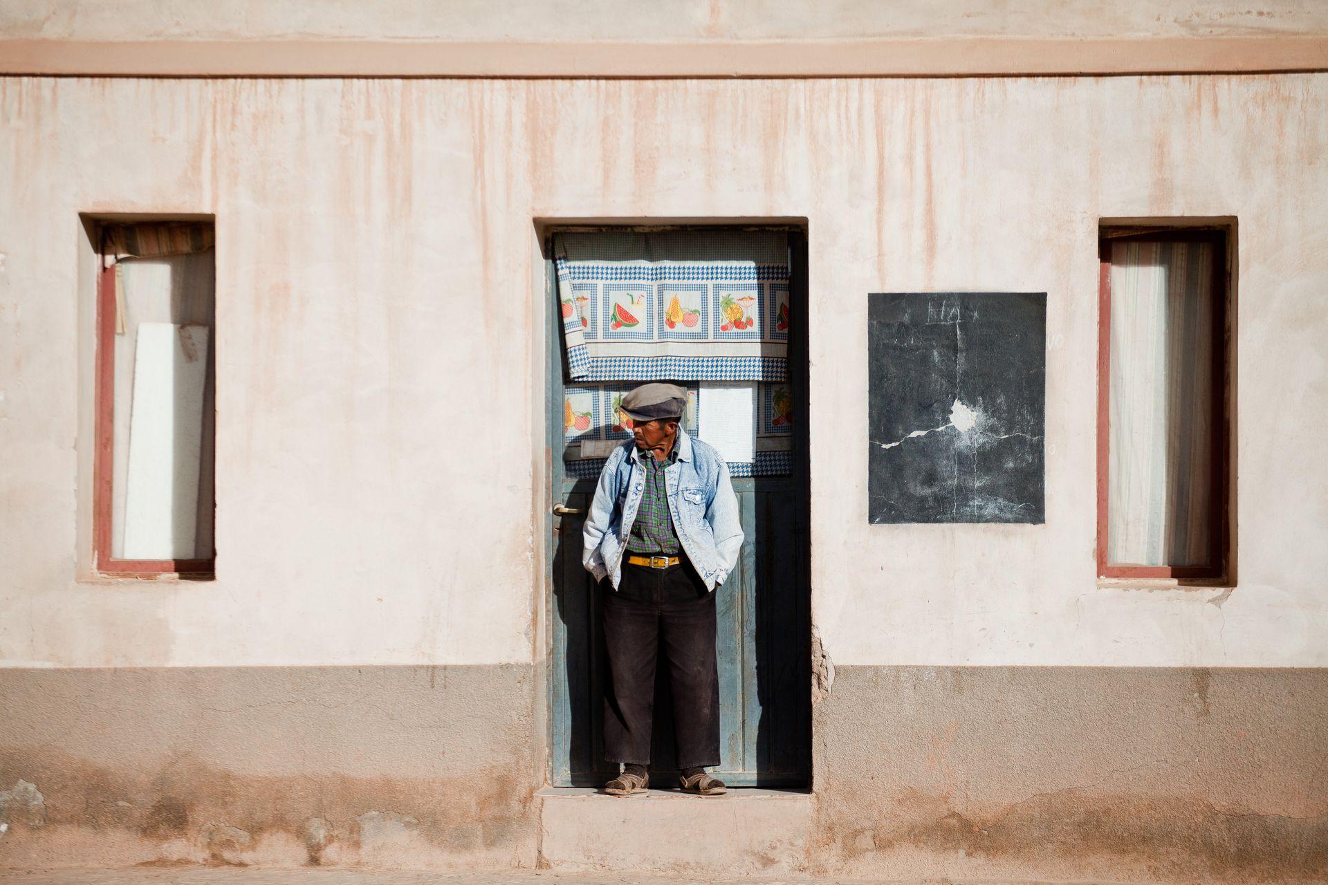 Un habitante de Susques, uno de los pueblos más habitados de la puna jujeña.