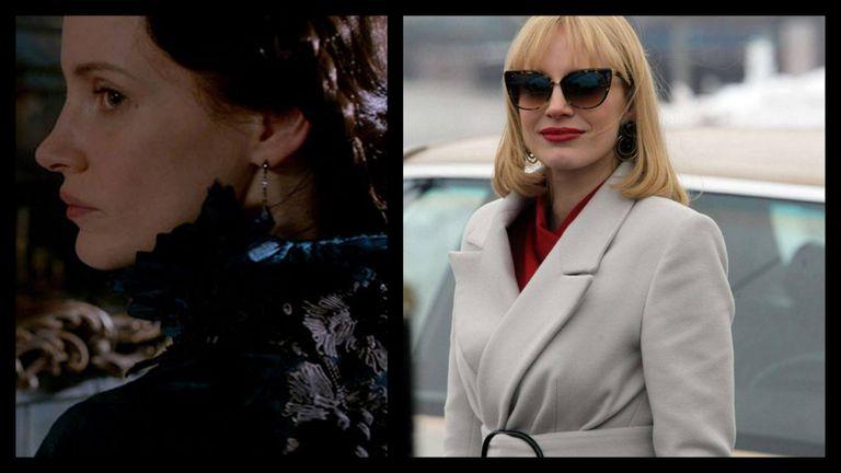 Dos películas completamente diferentes, una misma gran actriz: Jessica Chastain