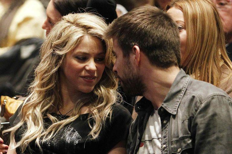Shakira y Piqué en sus comienzos de la relación