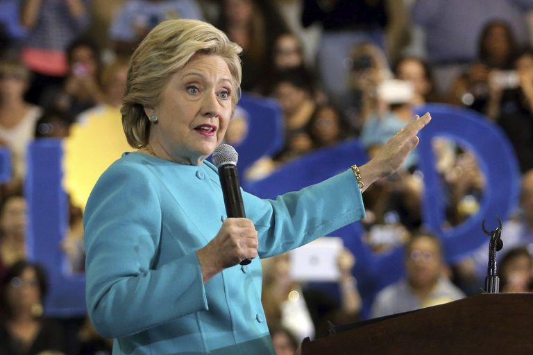 """""""Es un equipo que hizo historia"""", dijo Hillary Clinton tras el triunfo de Biden"""