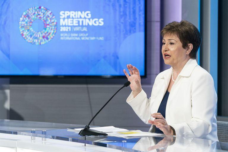 Se acusa a Kristalina Georgieva de haber beneficiado a China.