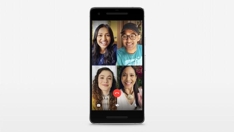 WhatsApp simplifica la creación de las llamadas de audio y video grupales de hasta cuatro integrantes