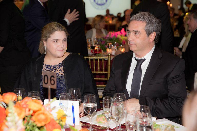 Marcela Noble y su marido, Javier Molina