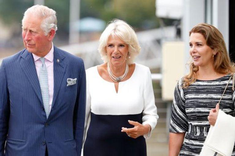 La princesa Haya no es una extraña para la realeza británica.