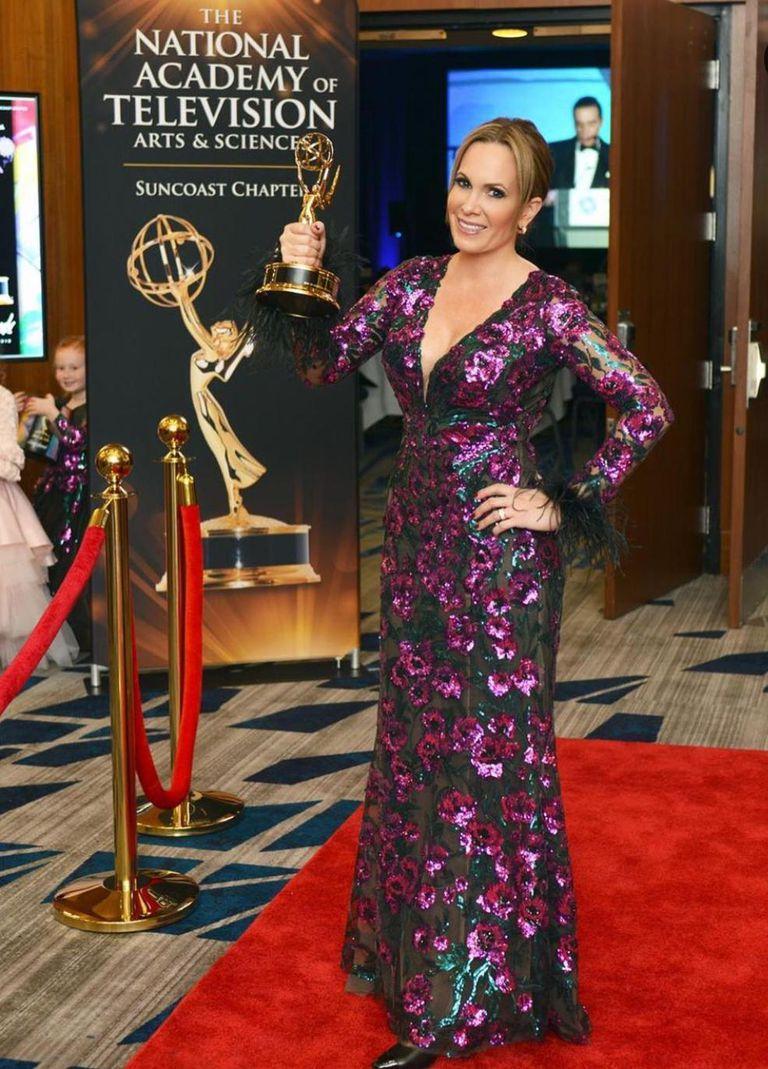 Es propietaria de una productora de contenidos cinematográficos por la que fue galardonada con 13 premios Emmy