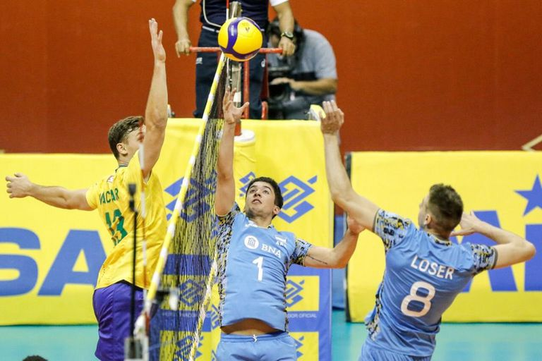 Le ganó a la Argentina y conquistó otra vez el Sudamericano de voleibol