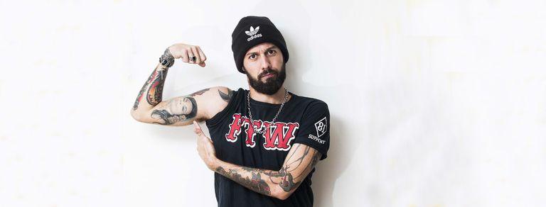 """Eddie Fitte: """"Estar tatuado me ayudó a conseguir trabajo"""""""