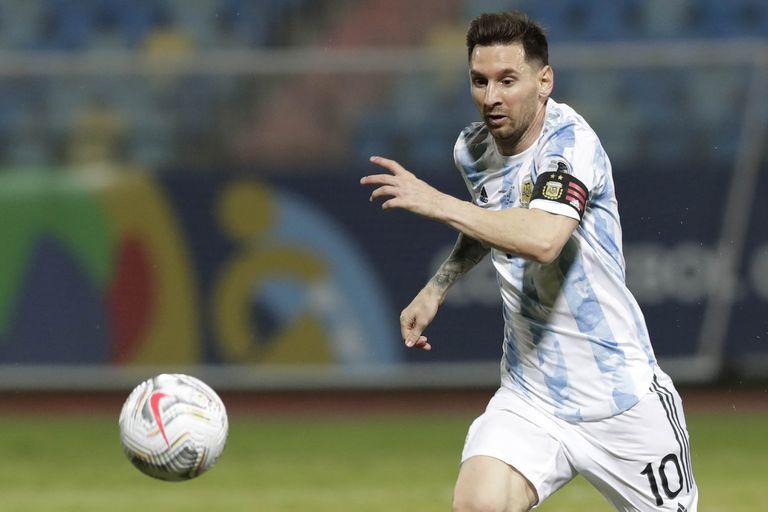 Messi contribuye a la Marca País
