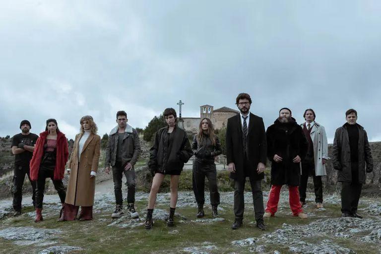 El destino del grupo de ladrones se revelará en la cuarta temporada de la ficción