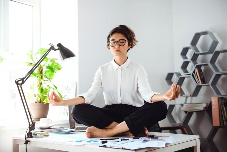 La meditación tiene impacto positivo en la salud.