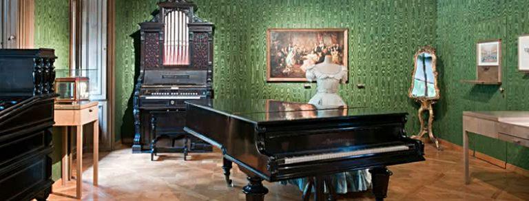 El Danubio Azul, su piano y otros recuerdos de Strauss