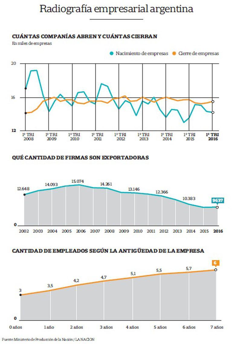 Radiografía empresarial argentina