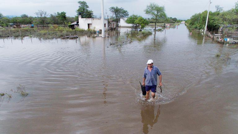 Tucumán, en emergencia hídrica y social como consecuencia de las inundaciones