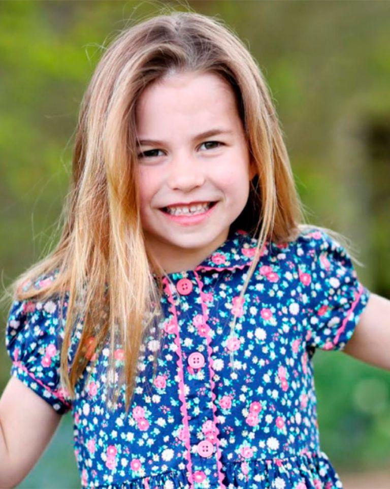 Nueva foto: la princesa Charlotte, la hija de William y Kate, cumplió seis años