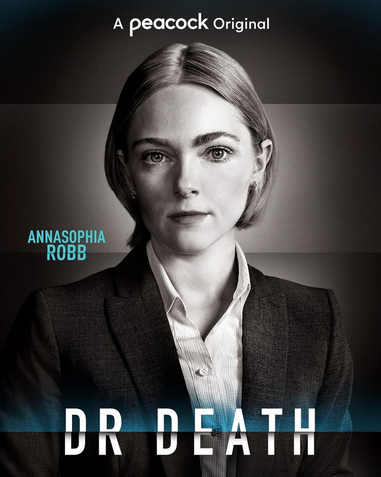 AnnaSophia Robb en la miniserie Dr. Death