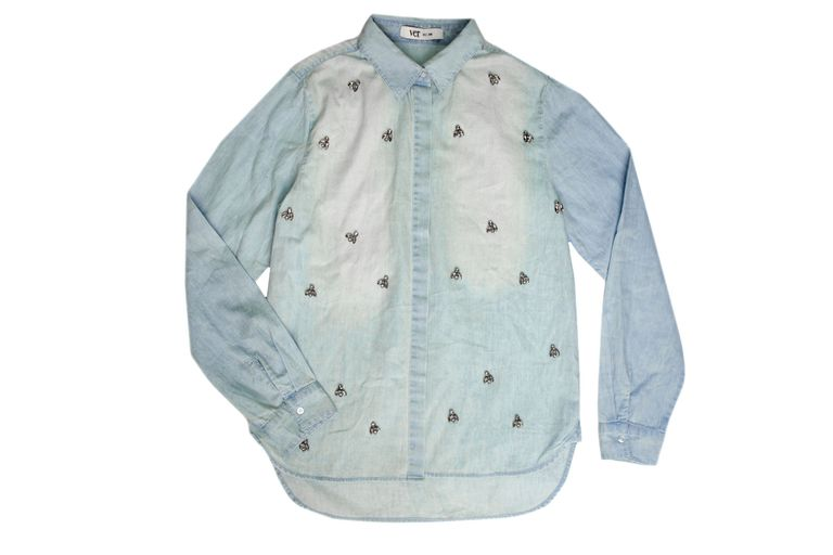 Camisa bordada, Ver, $1490