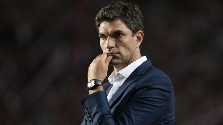 Pellegrino, uno de los cuatro entrenadores argentinos en la primera de España