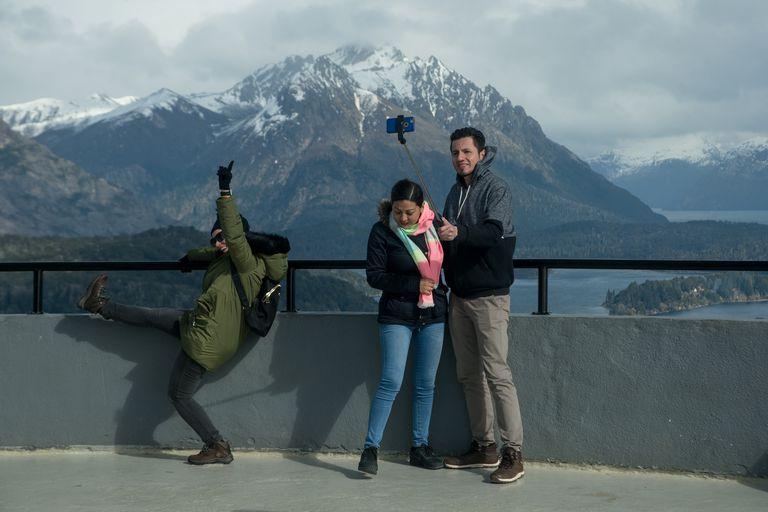 Las paisajes de montaña cautivan al turismo en Bariloche y la región
