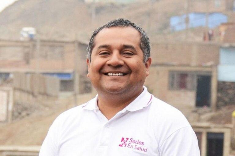 Leonid Lecca es director en Perú de la ONG Socios en Salud, que trató a más de 12 pacientes con TB resistente en alianza con el Ministerio de Salud