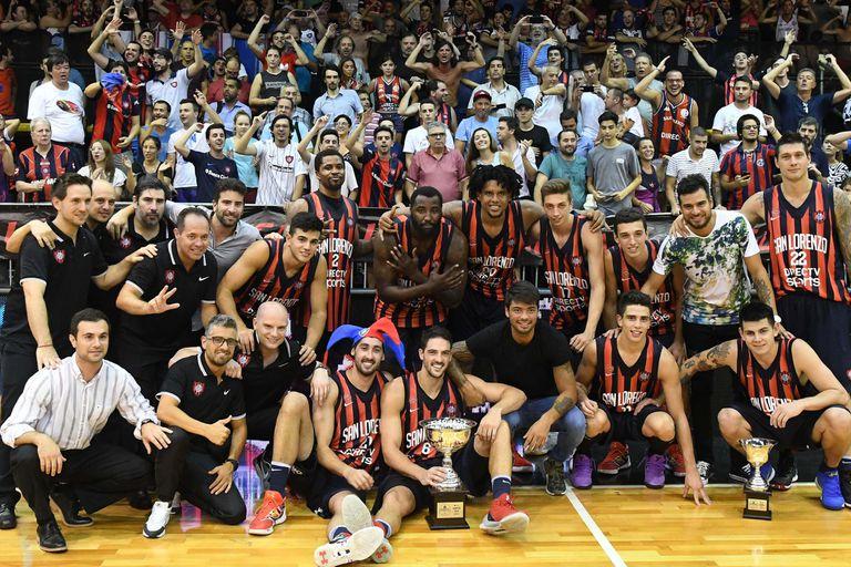 San Lorenzo obtuvo la Supercopa de la LNB tras derrotar a Regatas Corrientes