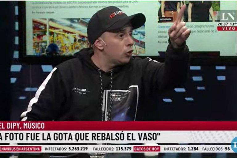 """El Dipy cruzó a Brancatelli por sus dichos sobre Mavys Álvarez: """"¿Alguien salió a decirle algo?"""""""