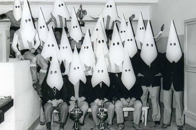 La foto que hicieron los jugadores para protestar contra la AFA, en su preparación para jugar con Bolivia por las Eliminatorias