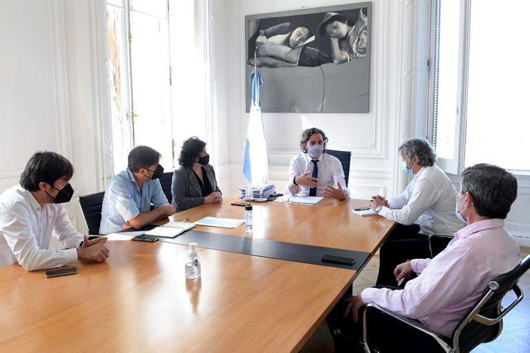 Junto a representantes del gobierno nacional, Kreplak y Bianco articularon las restricciones durante la pandemia con Quirós y Felipe Miguel