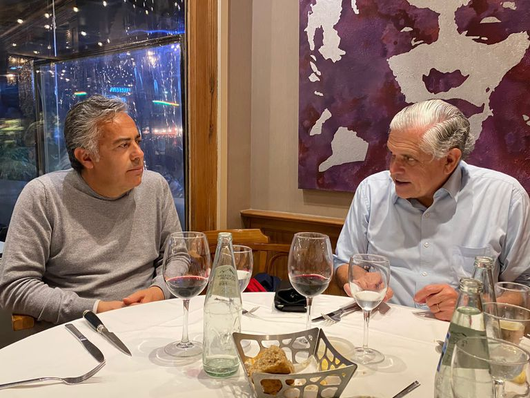 Alfredo Cornejo cenó con Ricardo López Murphy