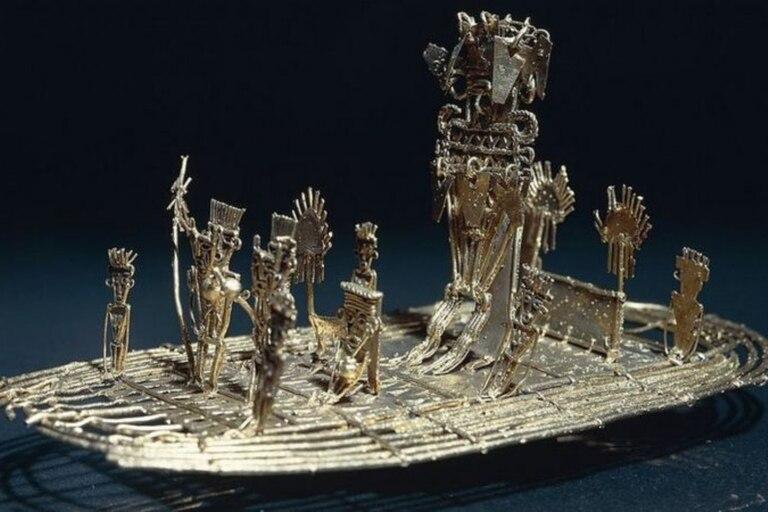 """La leyenda de """"El Dorado"""" fue el origen de muchas historias sobre ciudades escondidas"""