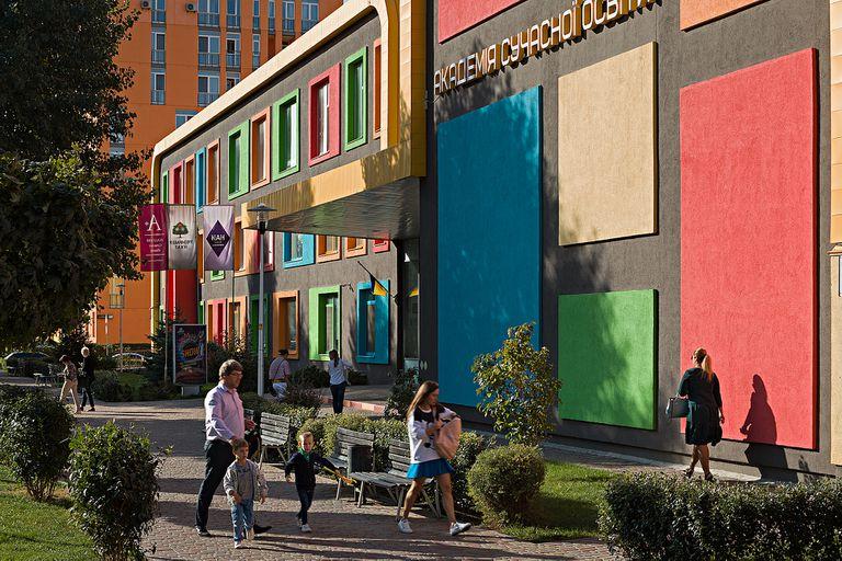 """.Los vecinos saben de qué se trata """"vivir en colores"""""""