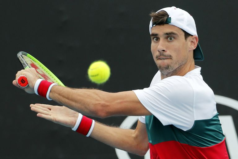 Australian Open: el progreso de Pella rinde examen ante el talentoso Fognini