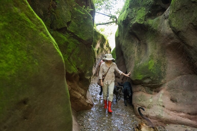 Trekking a Los Manzanos.