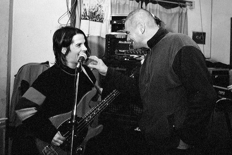 Gaby junto a Alejandro Sokol
