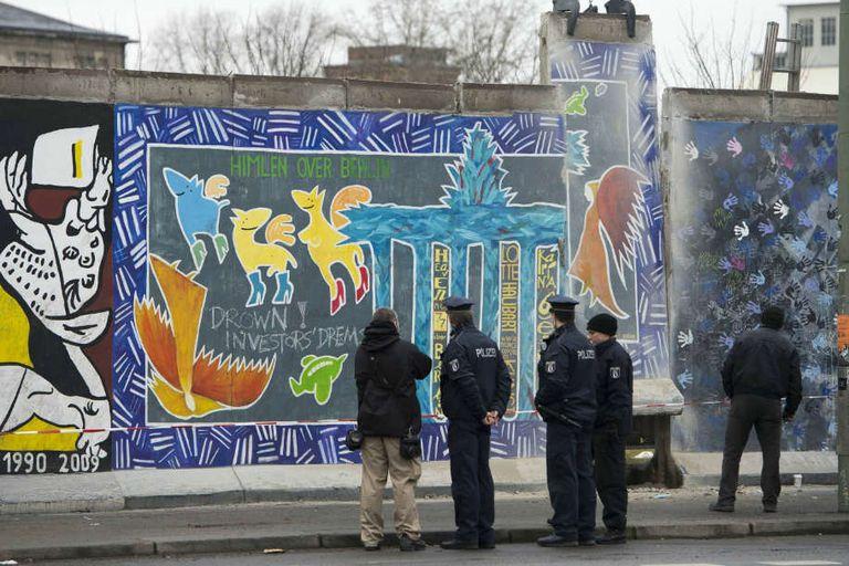 Se cumplen 29 años de la caída del Muro de Berlín