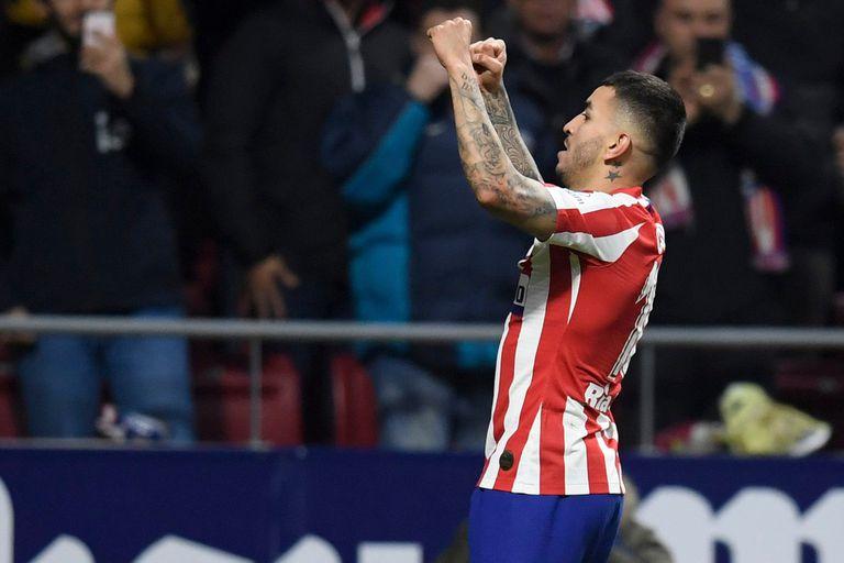 Angelito Correa le dio aire al Atlético de Madrid, que no pasa un buen momento